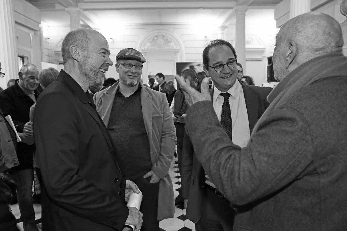 Michel Natier, Baptiste Roux, François-Xavier Priollaud, Hervé Télémaque