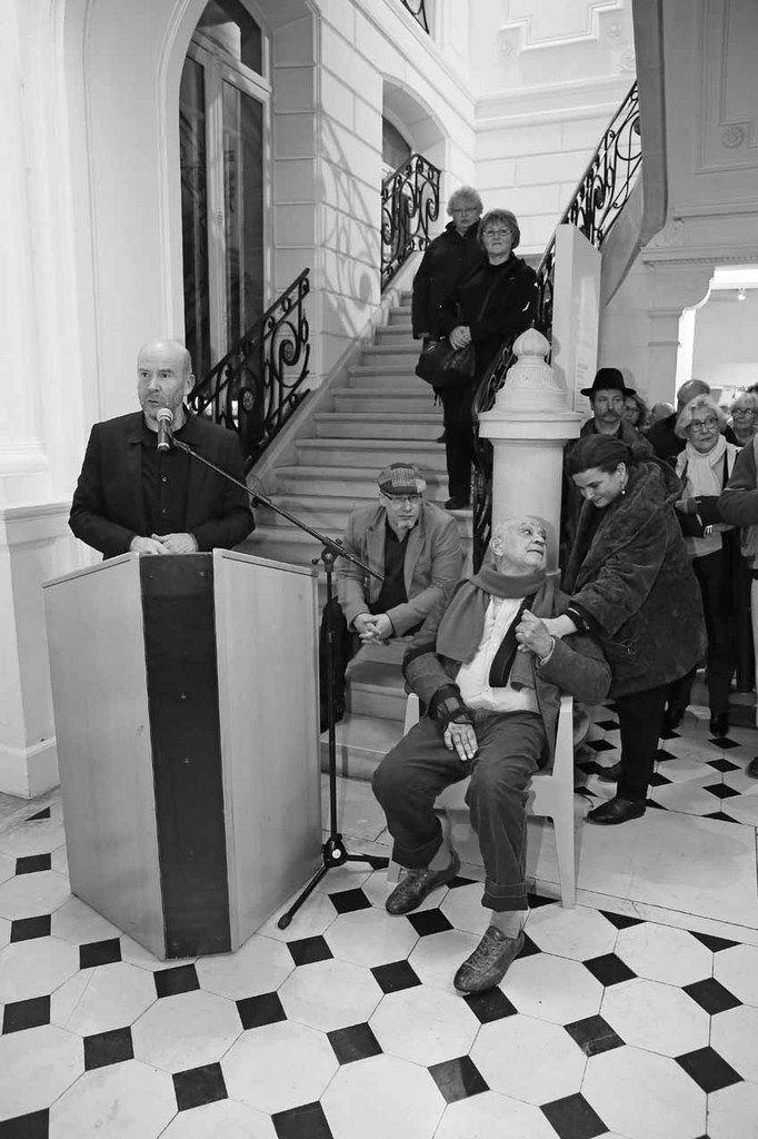 Michel Natier, Baptiste Roux, Hervé Télémaque, Elodie-Anne Télémaque