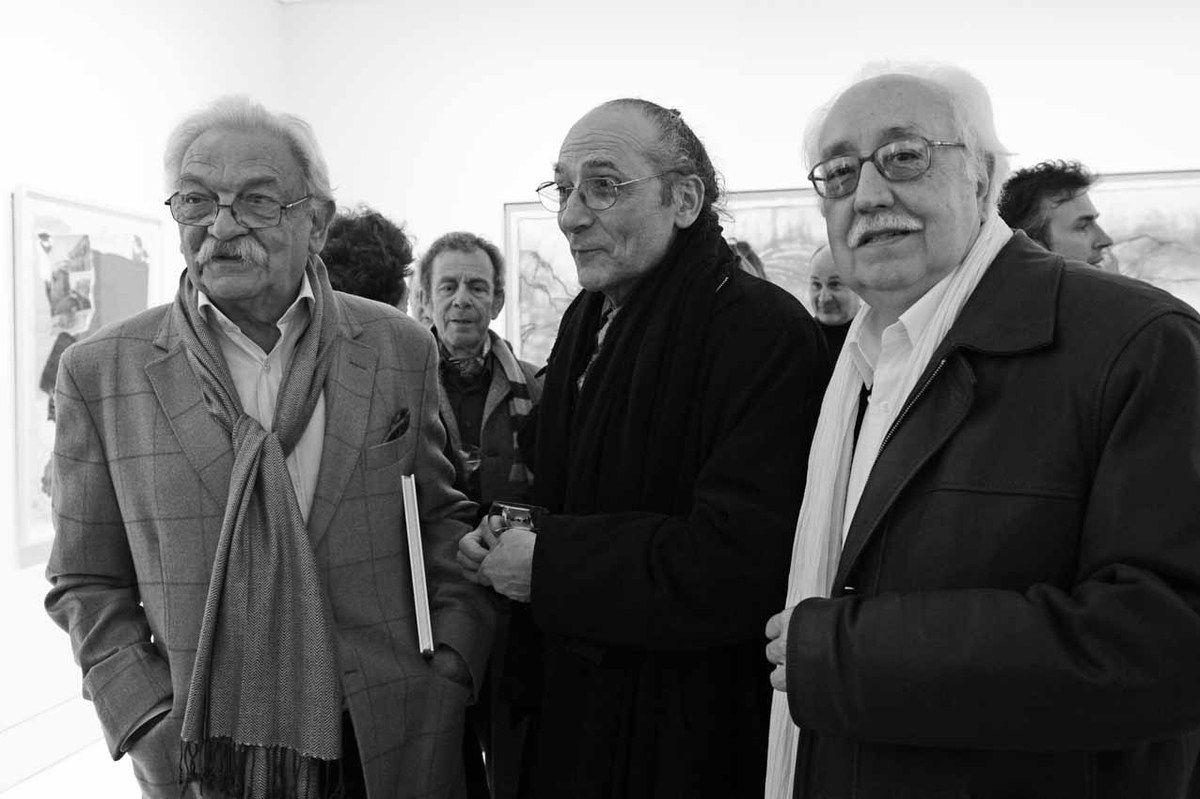 Antonio Segui, Antoni Miralda, Joan Rabascall