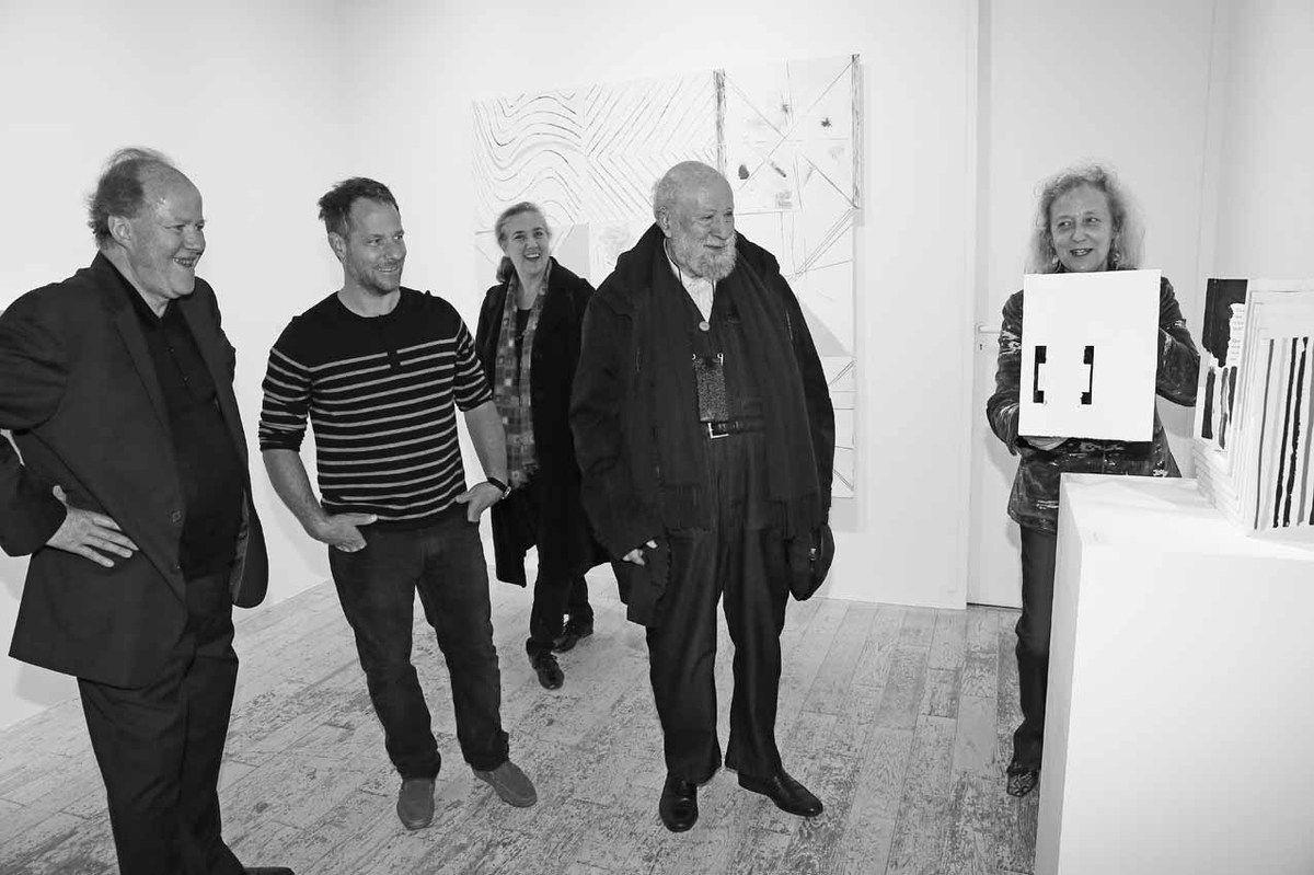 Bernard Zürcher, Cordy Ryman, Agnès Butor, Michel Butor, Gwénolée Zürcher