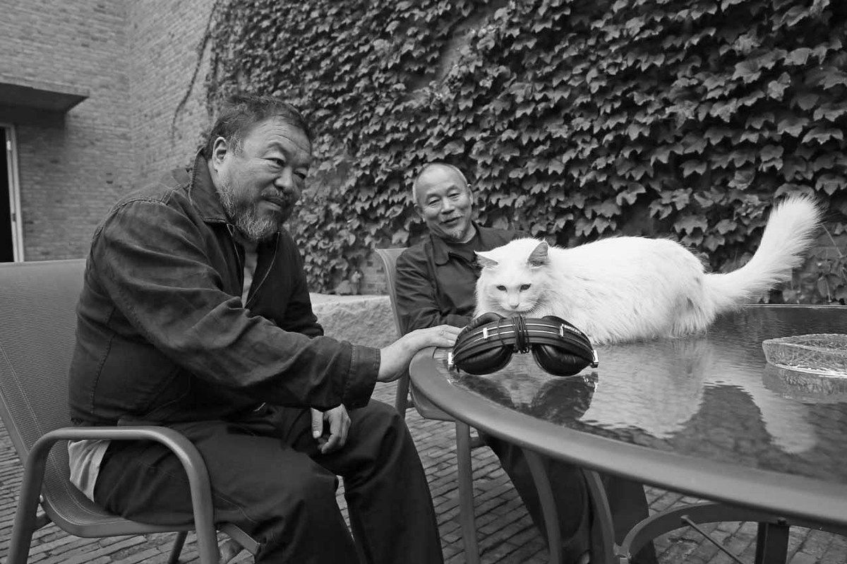 Wang Keping et Ai Weiwei