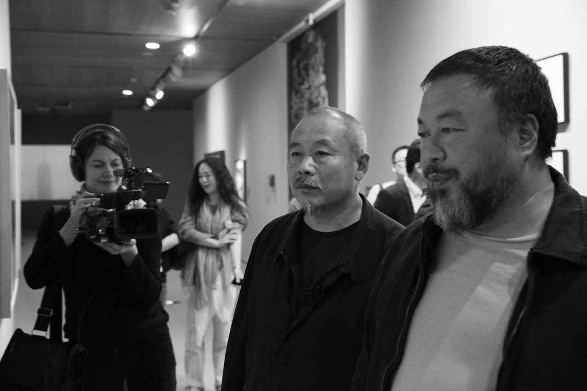 Wang Keping, Ai Weiwei