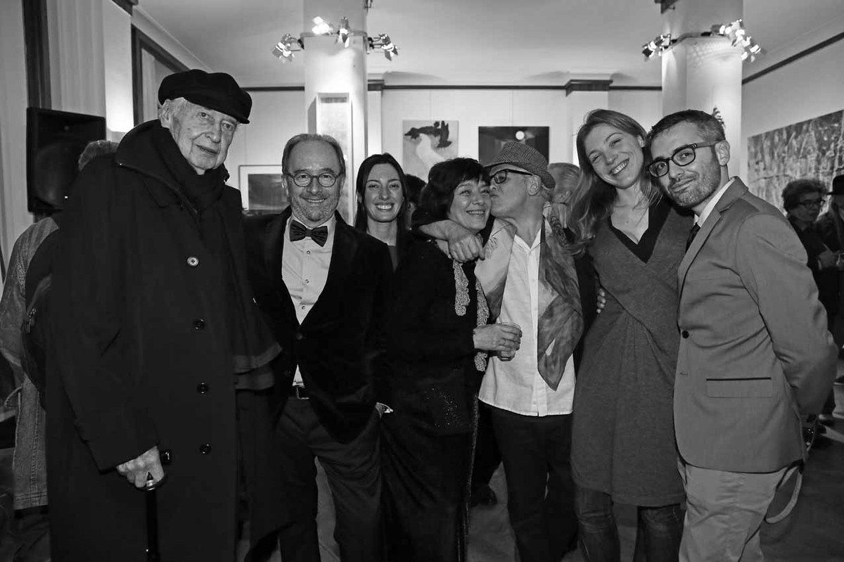 Julio Le Parc, Marcelo Balsells, Lorena Gabelloni, Marcela Gomez, Ricardo Mosner, Belén Roncoroni, Hugo Passarello Luna