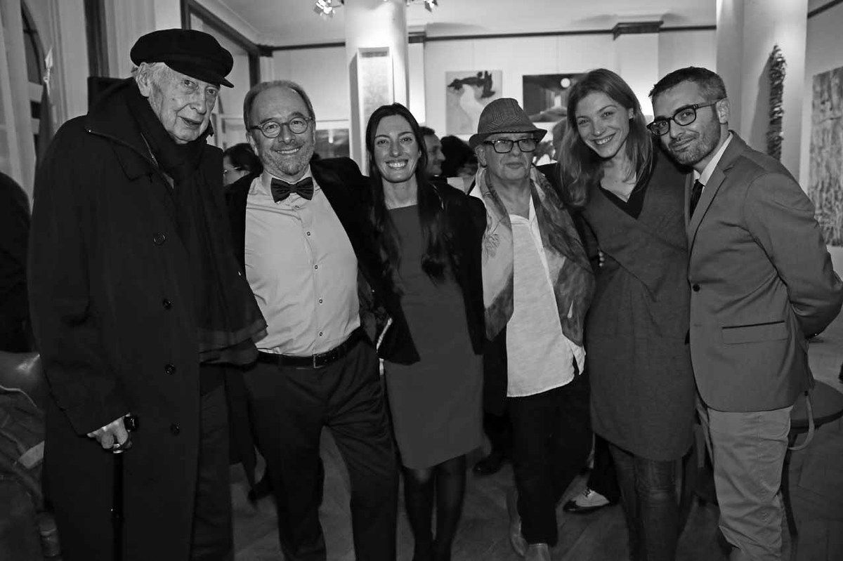Julio Le Parc, Marcelo Balsells, Lorena Gabelloni, Ricardo Mosner, Belén Roncoroni, Hugo Passarello Luna
