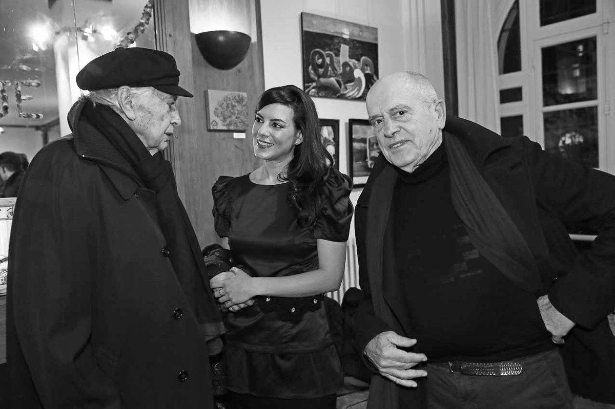Julio Le Parc, Patricia Miani, Pat Andrea