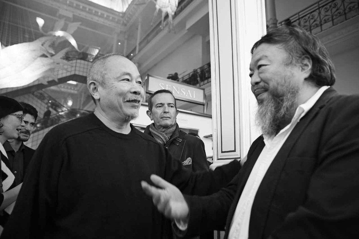 Aline Wang, Pierre Leredde, Wang Keping, Ai Weiwei