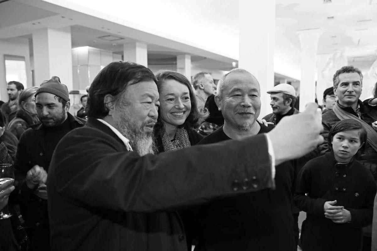 Rémi Ferrante, Ai Weiwei prenant un selfie, inconnue, Wang Keping