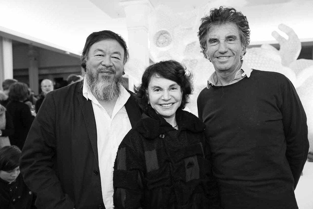 Ai Weiwei, Monique Lang, Jack Lang