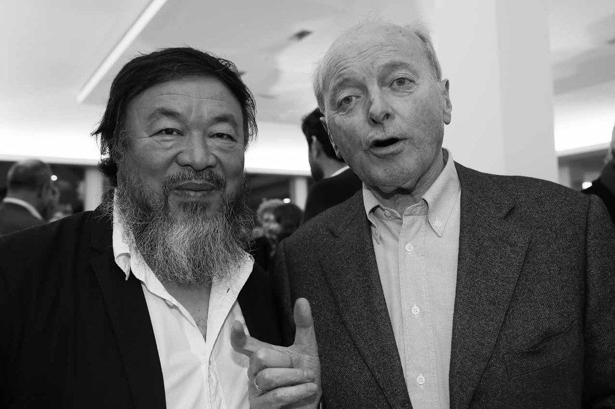Ai Weiwei, Jacques Toubon