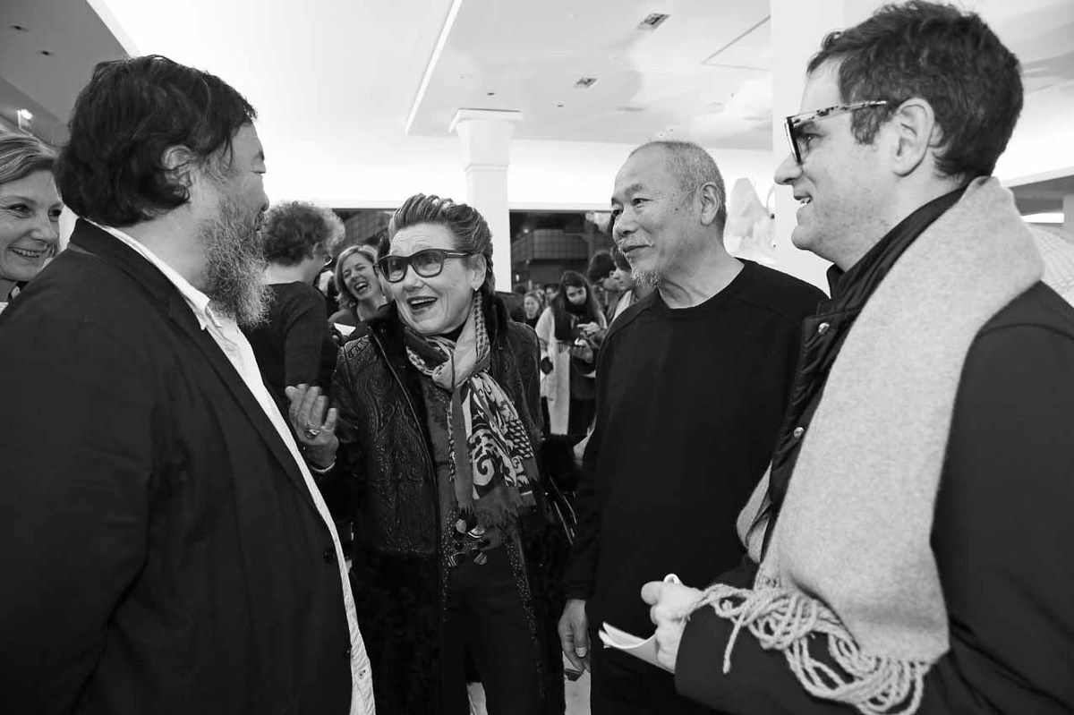 Anne-Catherine Grimal, Ai Weiwei, Inconnue, Wang Keping, Philip Tinari