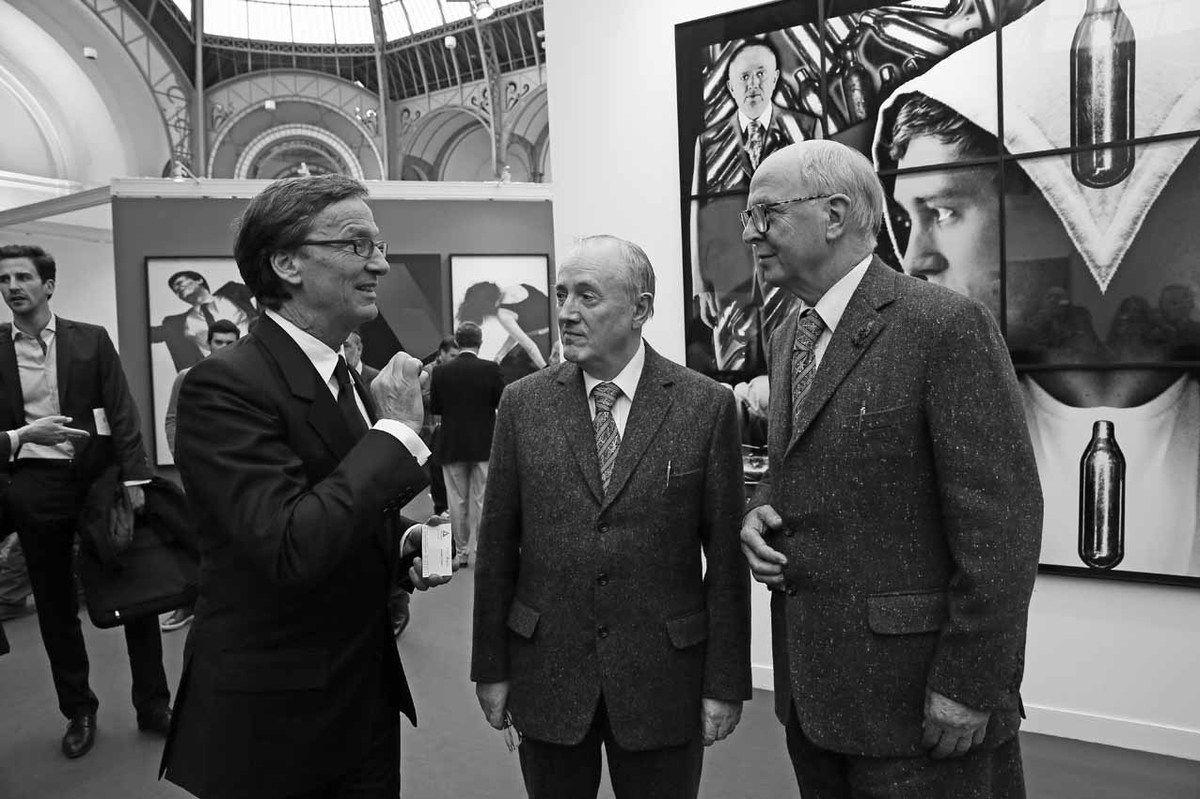Thaddaeus Ropac, Gilbert Prousch, George Passmore