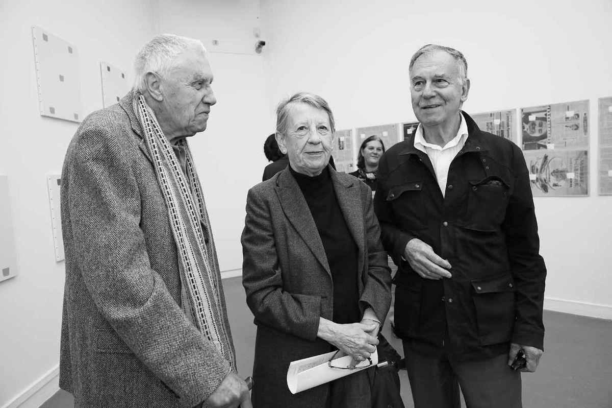 Paul-Armand Gette, Turid Wadstein, Yvon Lambert