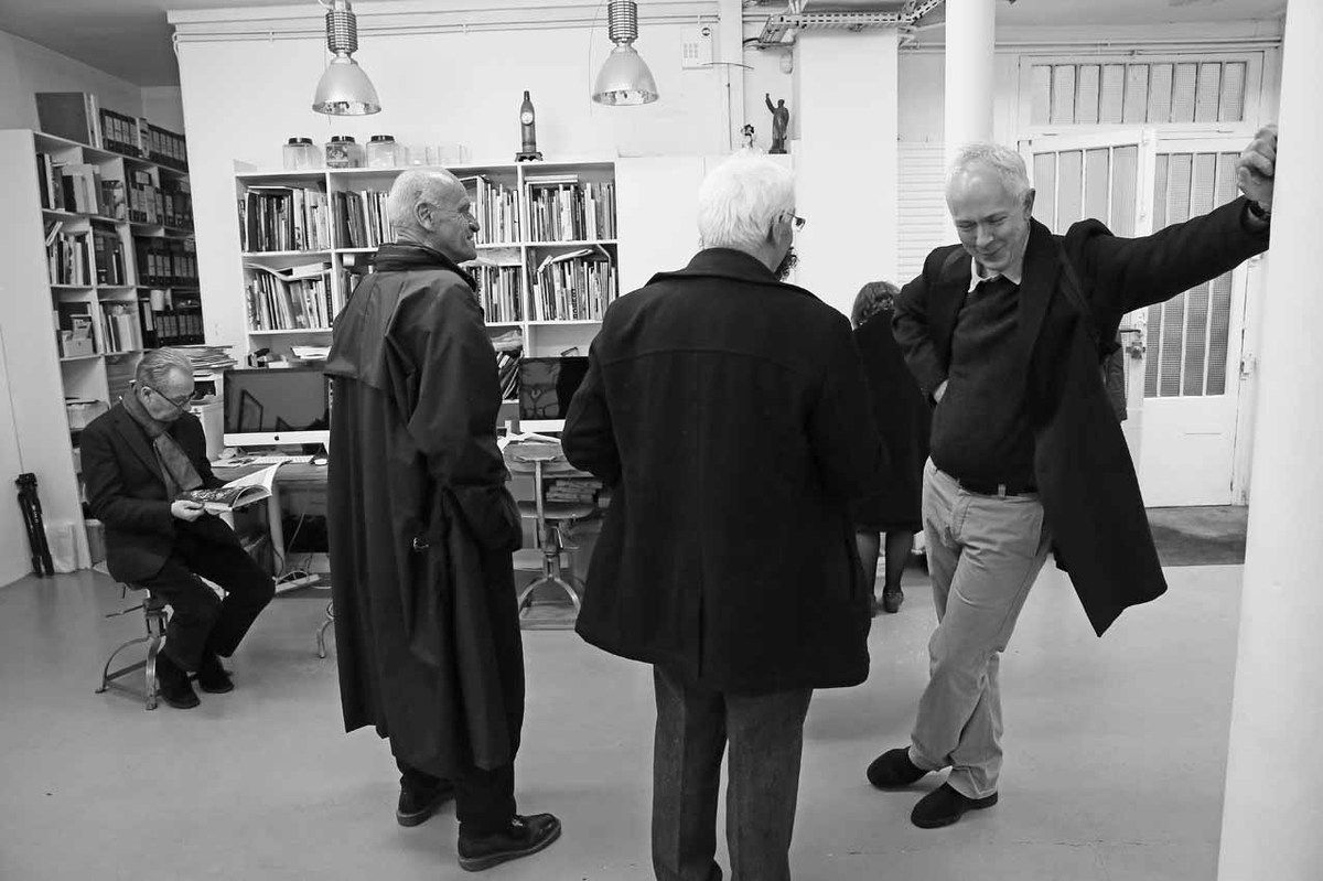 Jean-Hubert Martin, Jean Claus, Jean Brolly, Patrick Javault
