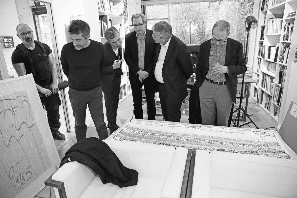 Pierre-Emmanuel Rastoin, Inconnu, Christian Berst, Guy Delcourt, Antoine Frérot, Jean-Hubert Martin