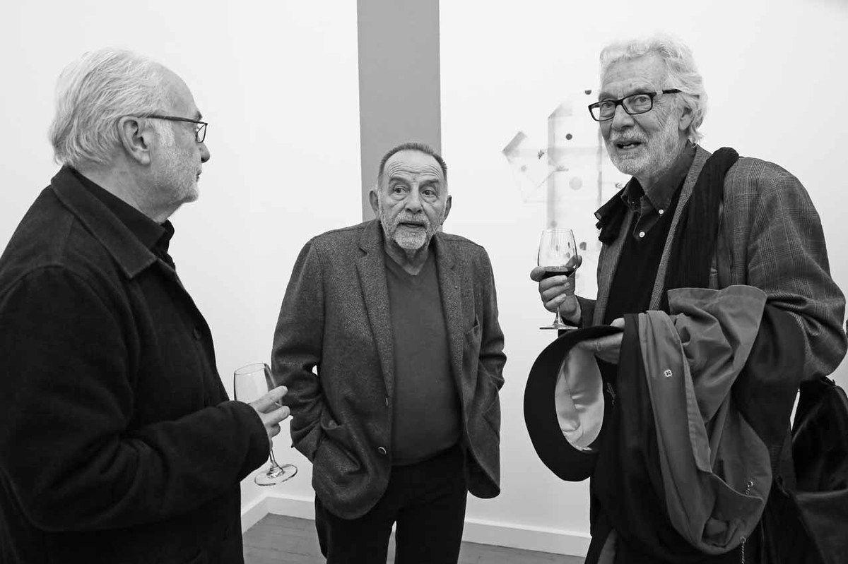 Bernard Collet, Noël Dolla, Pierre Buraglio