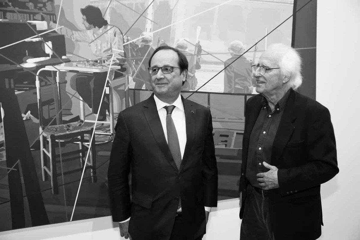 François Hollande, Gérard Fromanger