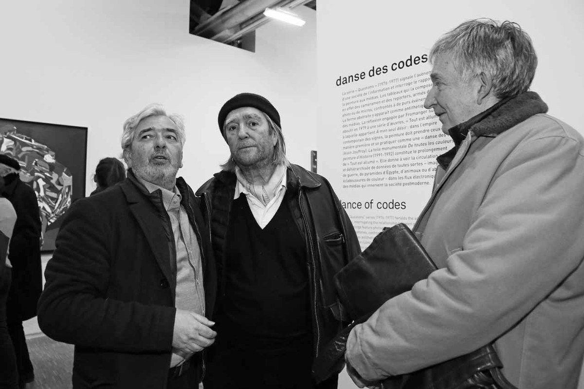 Hervé Di Rosa, Jean-Paul Chambas, Bernard Michel