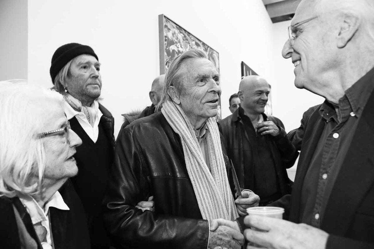 Inconnue, Jean-Paul Chambas, Jean-Pierre Faye, Inconnu, Gérard Fromanger