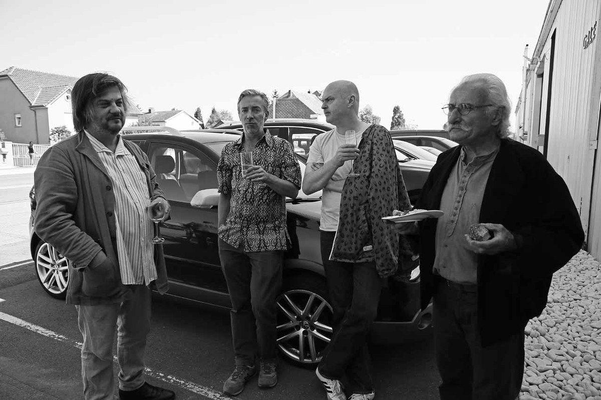 Ronan Barrot, Frank Nitshe, Eberhard Havekost, Bernard Pagès