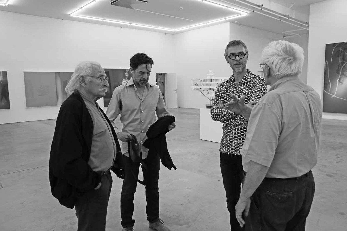 Bernard Pagès, Franck Chalendard, Rémy Jacquier, Bernard Ceysson