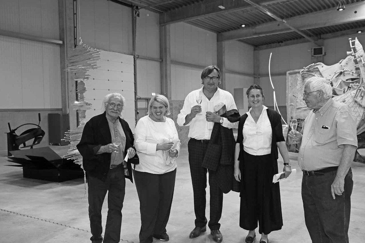 Bernard Pagès, Léa Linster, Inconnu, Arlette Klein, Bernard Ceysson