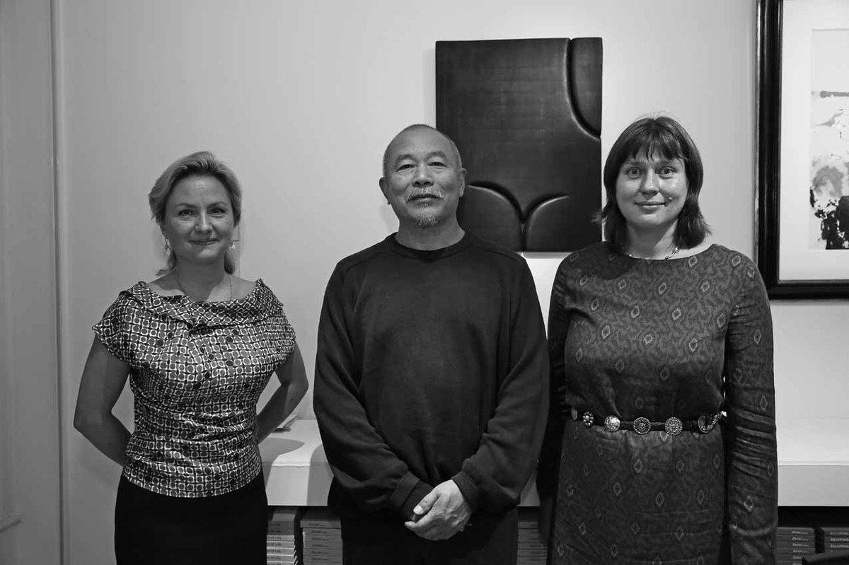 Iana Kobeleva, Wang Keping, Anna Chalova