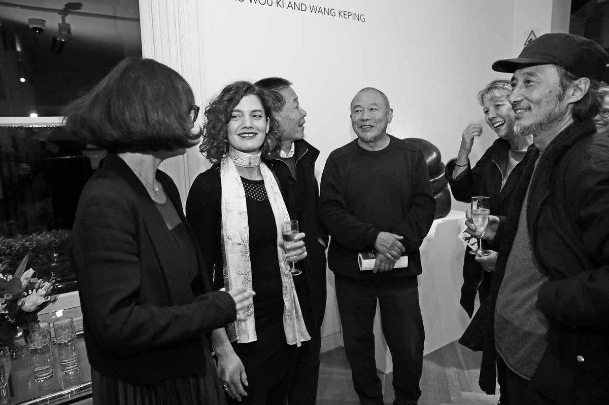 Aline Wang, Dagmar Carnevale Lavezzoli, Qu Lei Lei, Wang Keping, Madame Qu Lei Lei, Ma Jian