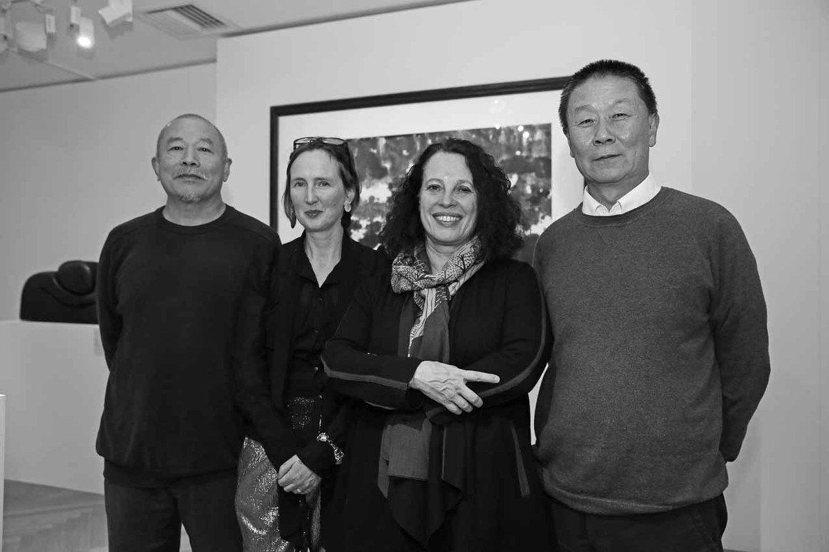 Wang Keping, Katie Hill, Sylvie Bermann, Qu Lei Lei
