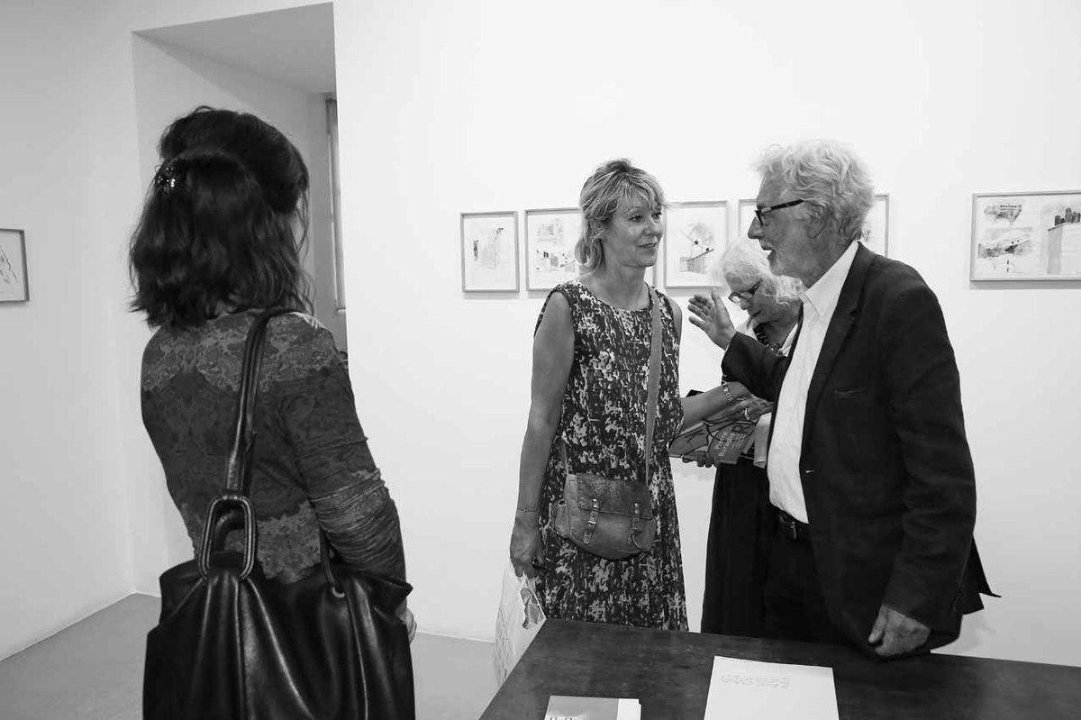 Amélie Adamo, Anitra Delmas, Claude Schweisguth, Pierre Buraglio