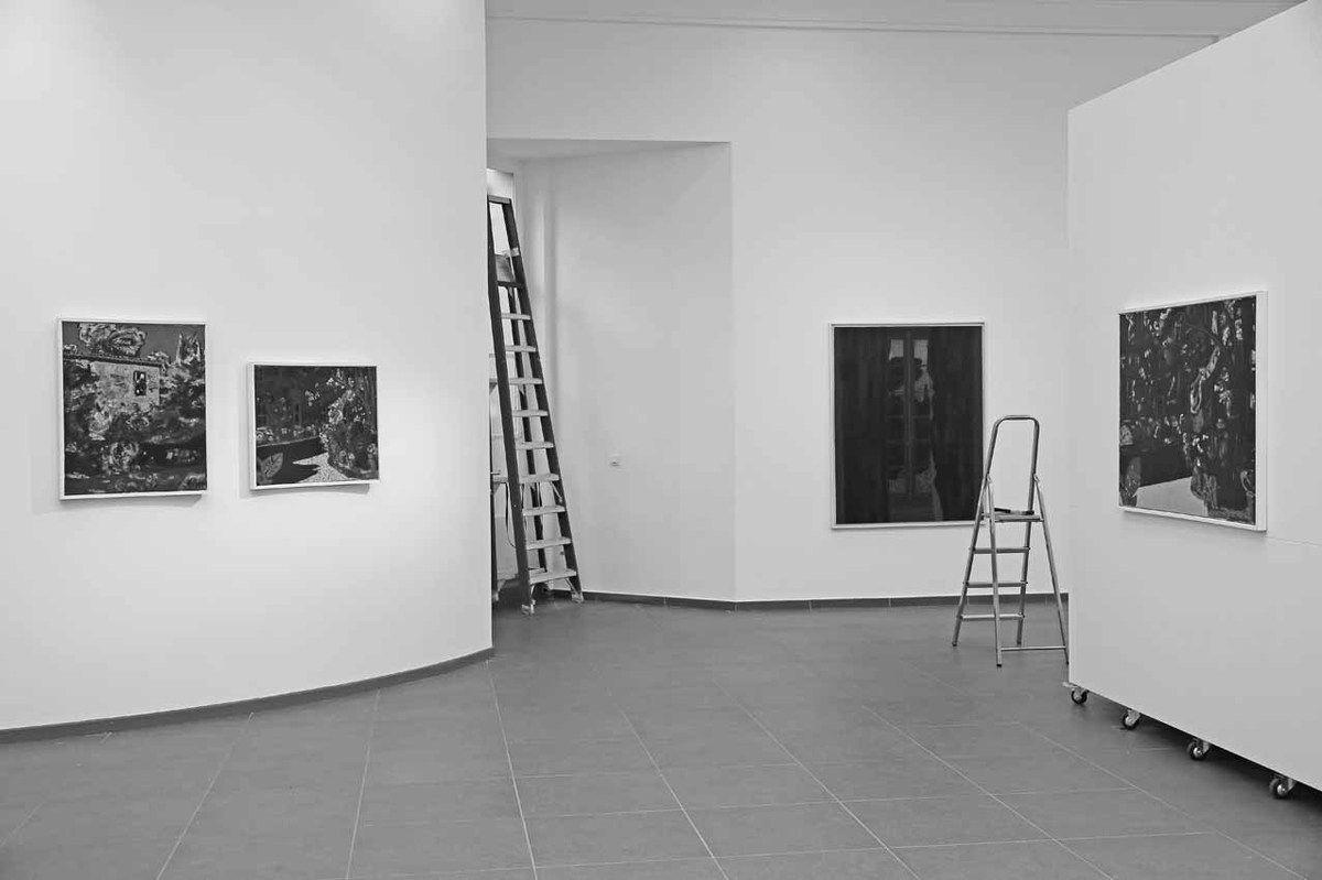 Vincent Bioulès. Galerie La Forest Divonne. Bruxelles 2016