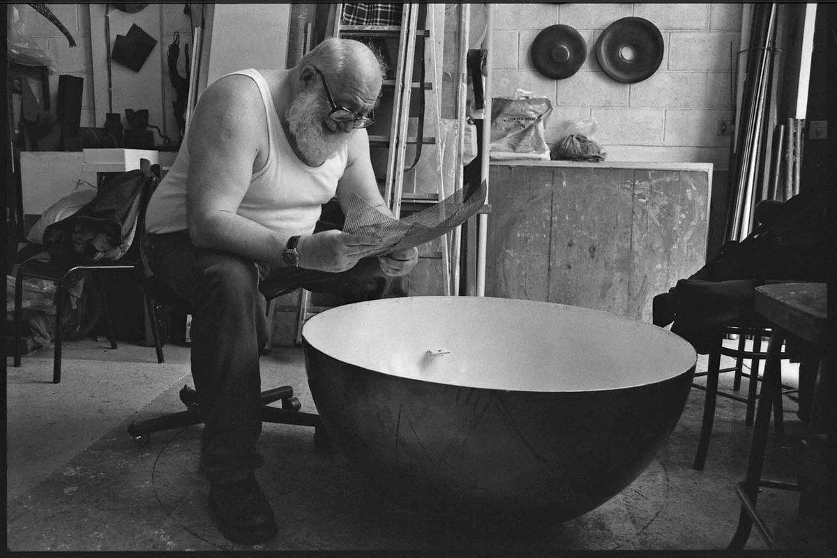 Visite de l'atelier de Vladimir Skoda. Paris le 6 juin 2003