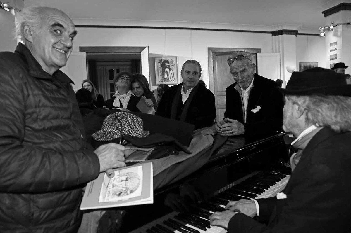Rodolfo Natale, Ricardo Mosner, Francesqua Piqueras, Pablo Katz, Roberto Plate, Ruben Alterio