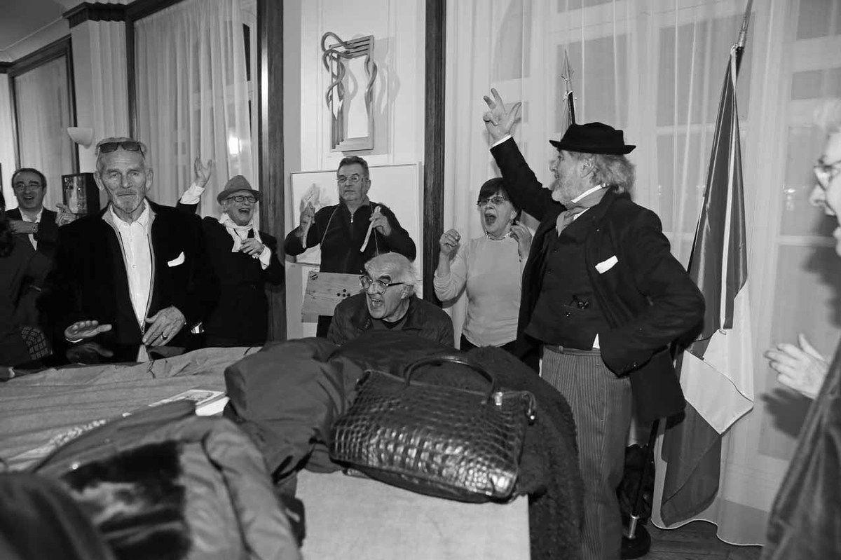 Fernand Garcia de Cruz, Roberto Plate, Ricardo Mosner, Jean-Pierre Chaty, Rodolfo Natale, Marie Orensanz, Ruben Alterio