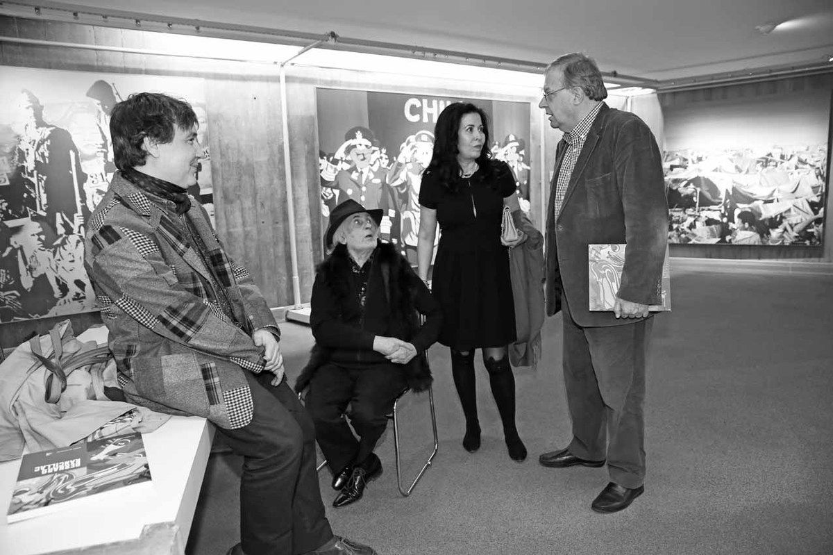 Renaud Faroux, Bernard Rancillac, Djohar Rancillac, Bernard Vasseur