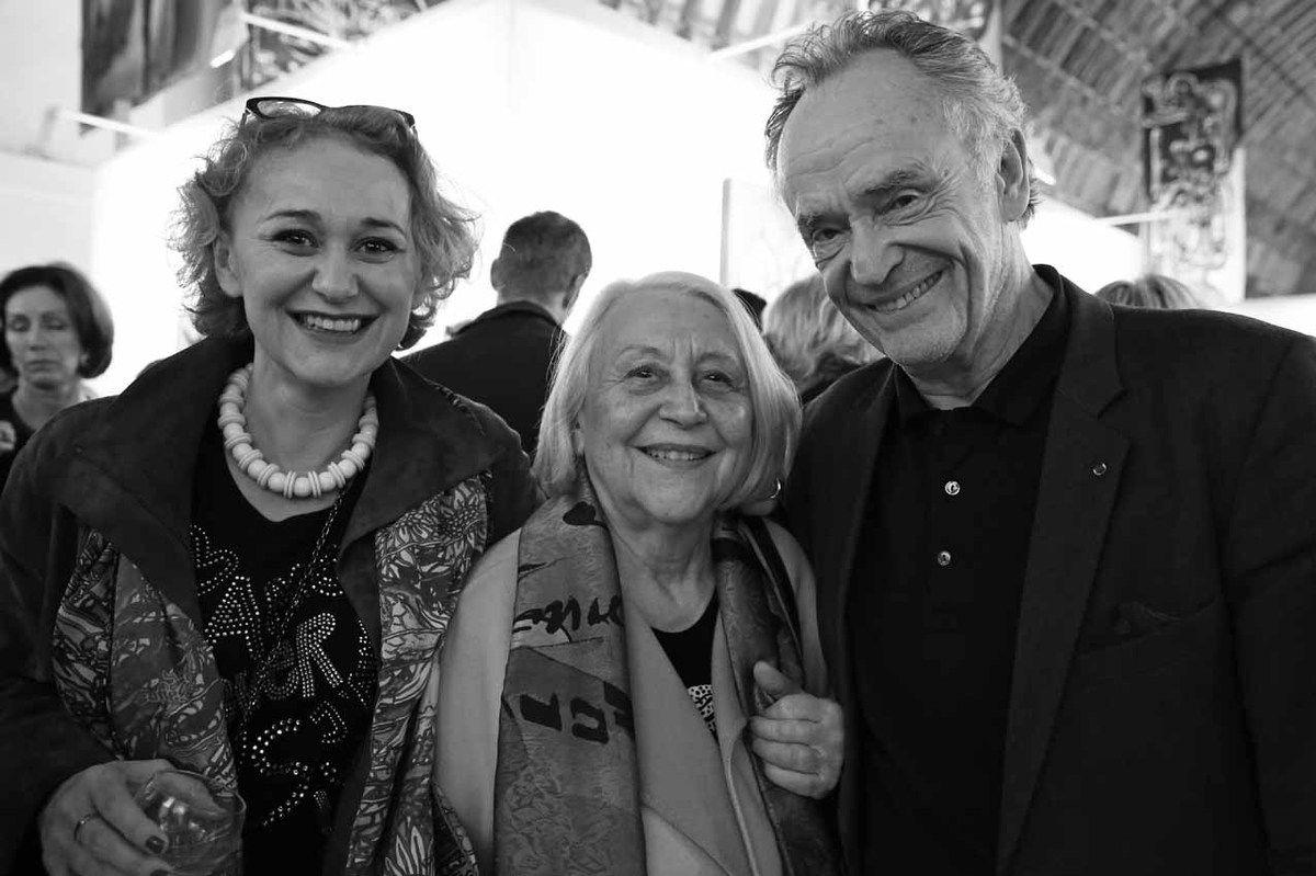 Anne-Laurence Faroux, Blanche Faroux, Jean-Claude Casadesus