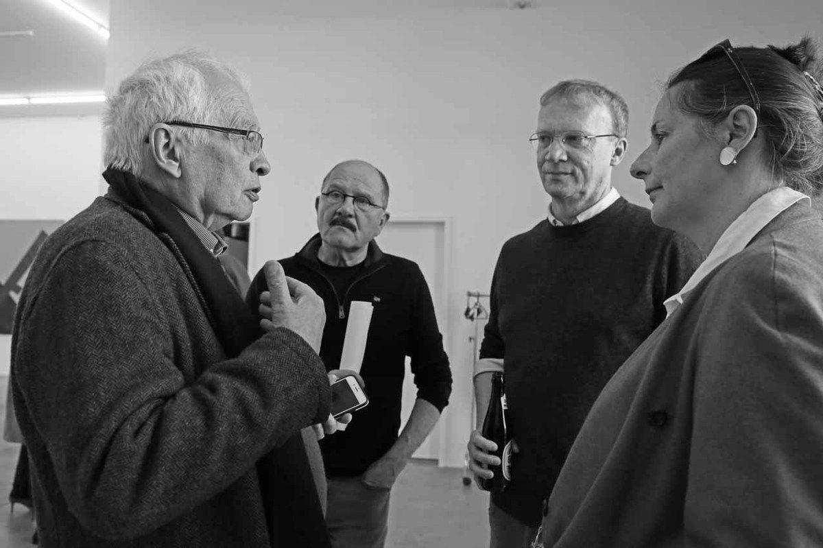 Bernard Ceysson, Robert Brandy, Philippe Aschman, Arlette Klein