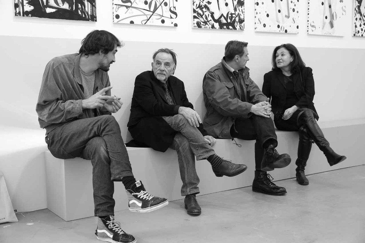 Tom Giampieri, Noël Dolla, Philippe Ramette, Brigitte Ferrari