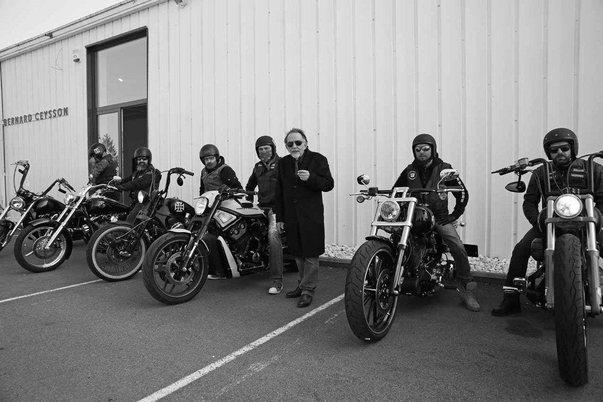 Noël Dolla, Bikers