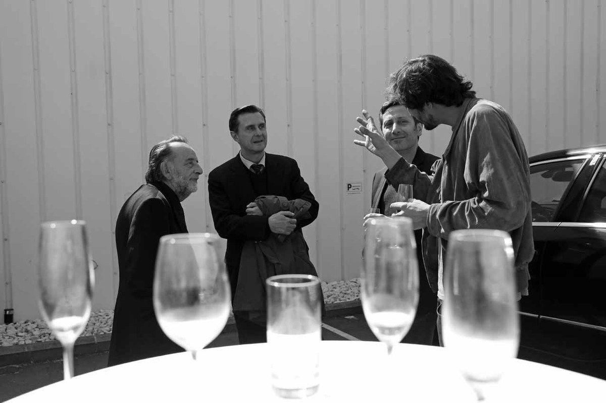 Noël Dolla, Philippe Ramette, Pascal Pinaud, Tom Giampieri