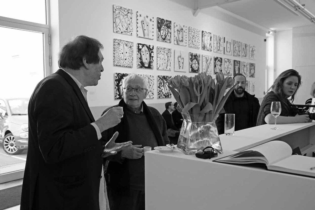 Bernard Marcelis, Bernard Ceysson, Zine El Abidine Ramdani, Clara Blein-Renaudot