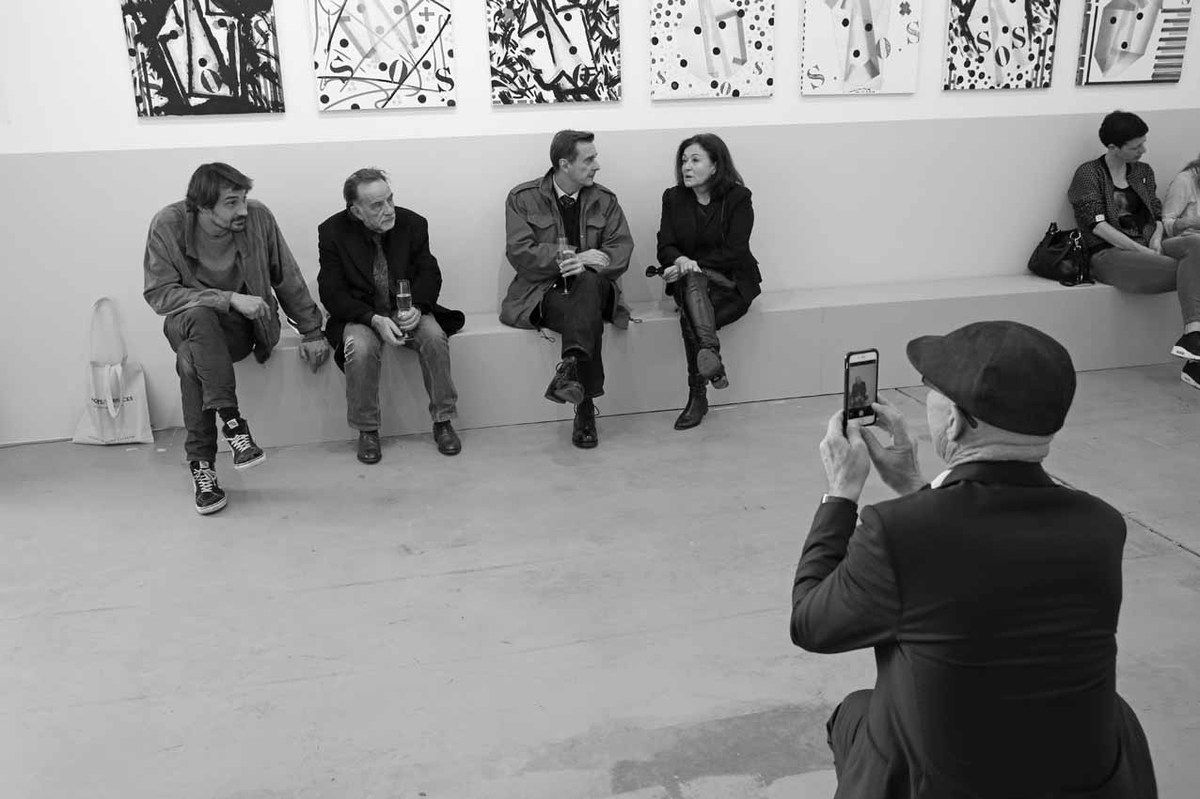 Tom Giampieri, Noël Dolla, Philippe Ramette, Brigitte Ferrari, François Fauchon, Inconnue
