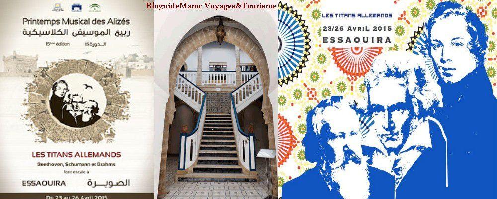 Le Printemps Musical des Alizés 2015 à Essaouira : Programme Complet et informations