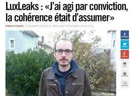 Antoine Deltour, lanceur d'alerte LuxLeaks