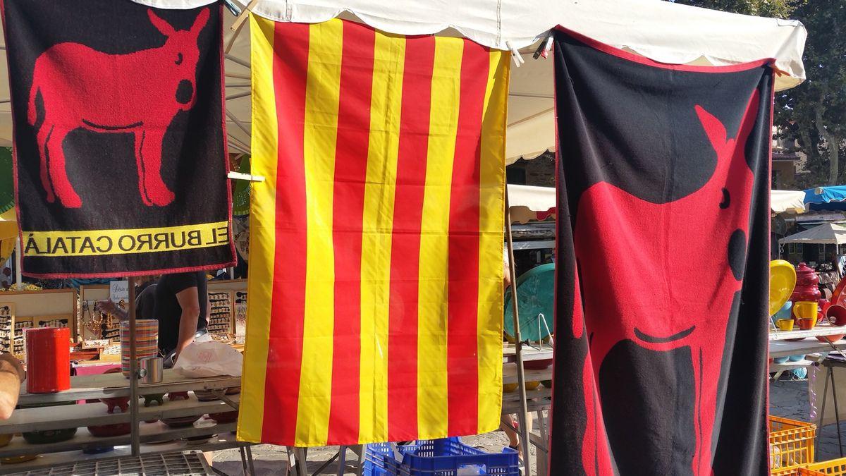 produits dérivés de l'identité catalane © jean-pierre bonnel