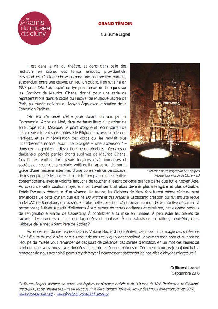Exposition sur le MAÎTRE DE CABESTANY - Maison de l'Histoire du Boulou - Atelier des masques - Futur musée des arts du masque de Limoux