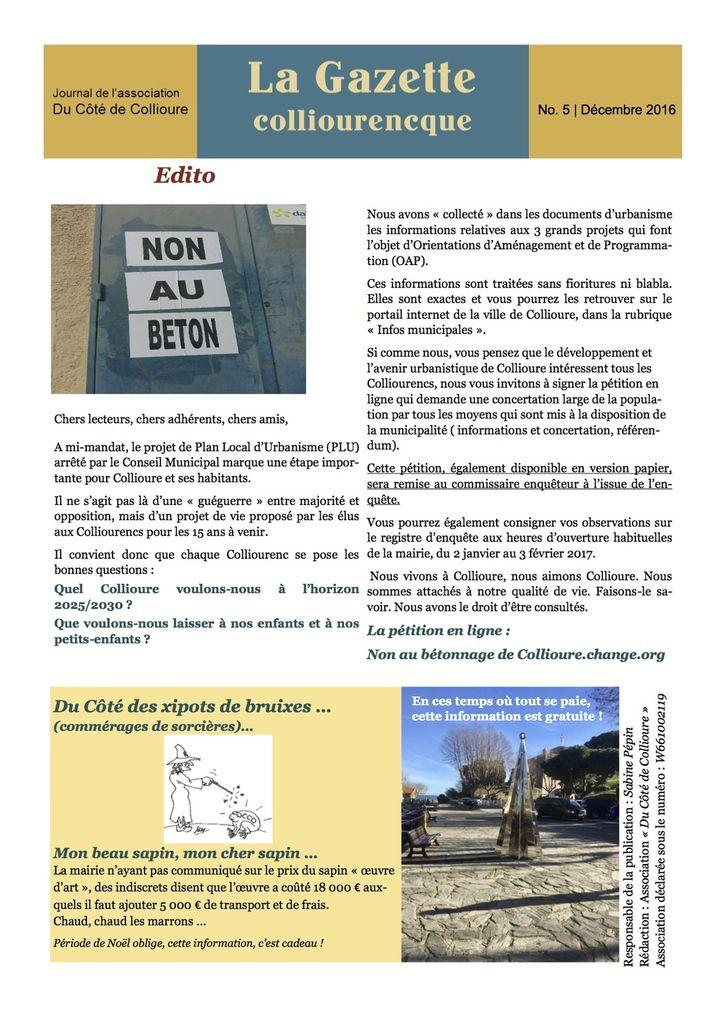 Collioure : plage du Faubourg - La Gazette de l'opposition municipale