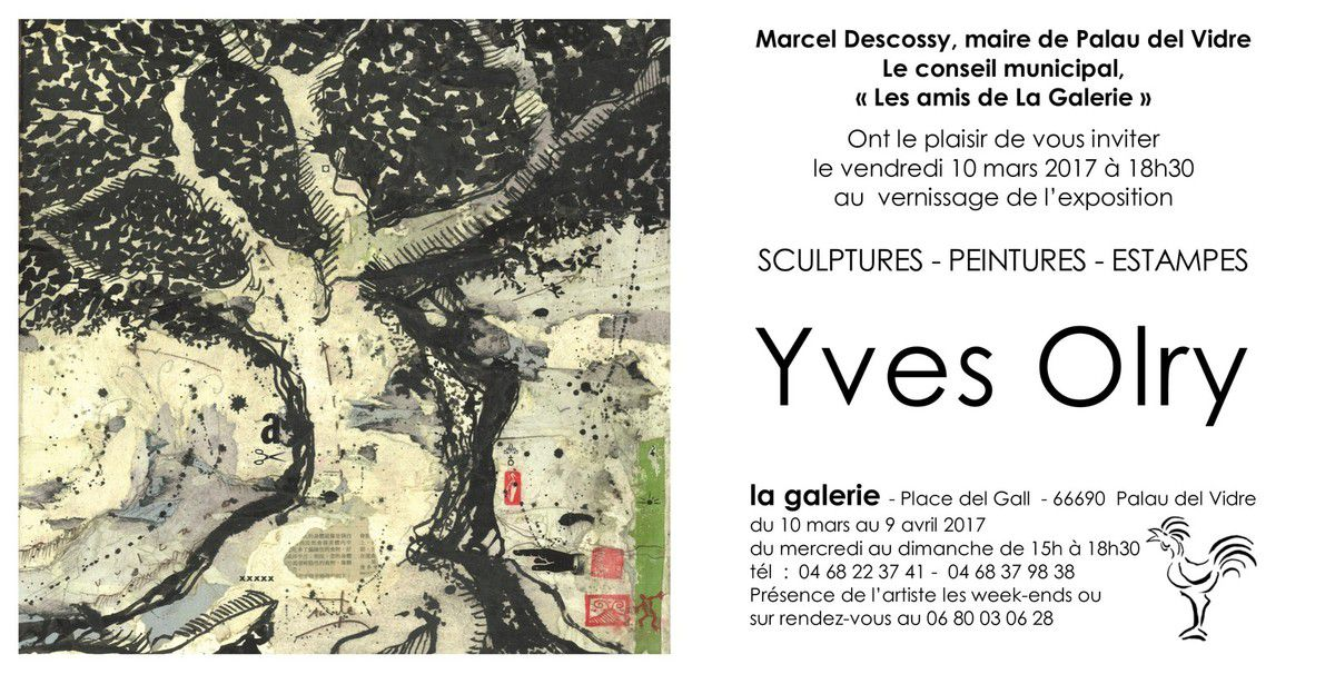 Exposition d'Yves OLRY - YO - Bronze - Editions COLOR GANG -
