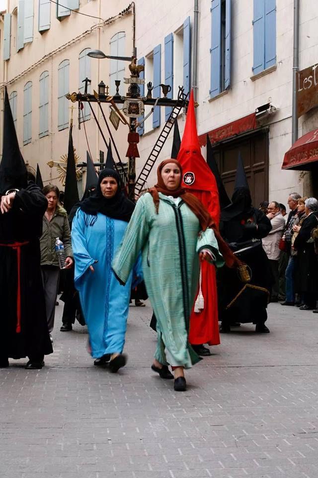 Images de la Sanch (vendredi saint à Perpignan)