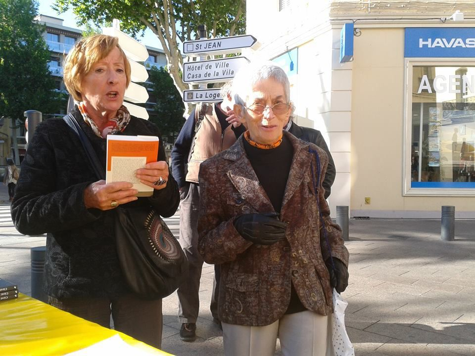 Renada Laura Portet (à droite) Photo J.P.Bonnel - Hommage à Barcelona -