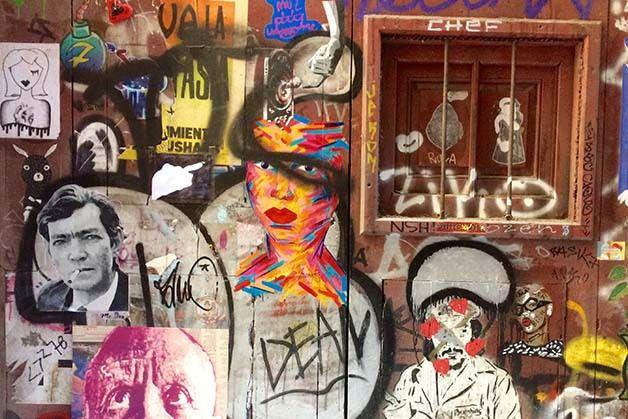 Manif Femen - Barcelone festival - Street Art : l'autre Barcelona